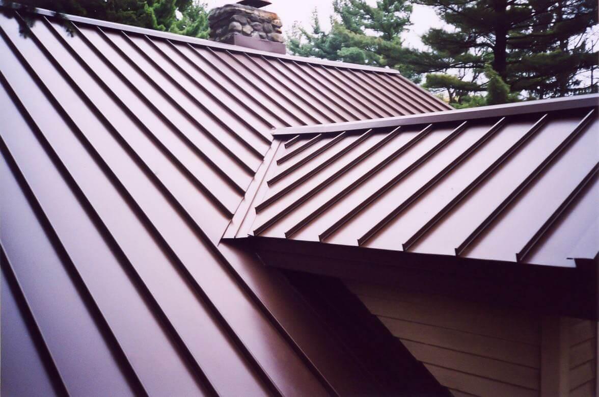 Standing Seam Metal Roof-Davie Metal Roofing Company